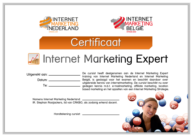 Certificaat-Internet-Marketing-Expert-IMNL