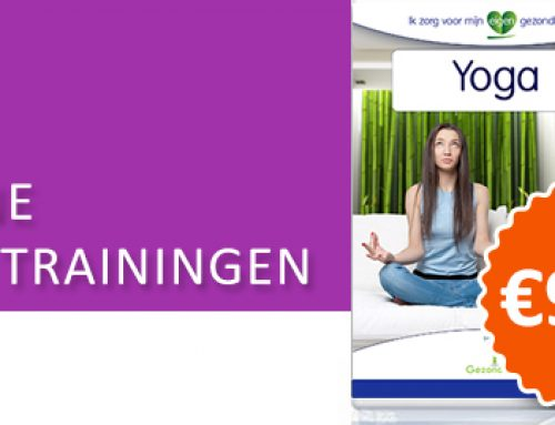 "Nieuwe online training ""Yoga trainingen"""