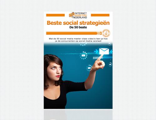 Gratis cursus social media strategieën