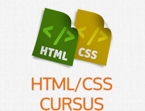 Gratis cursus Html/Css