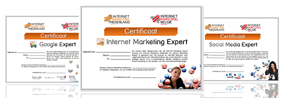 Certificaat internet marketing expert