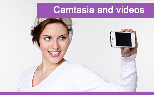 camatasia and videos