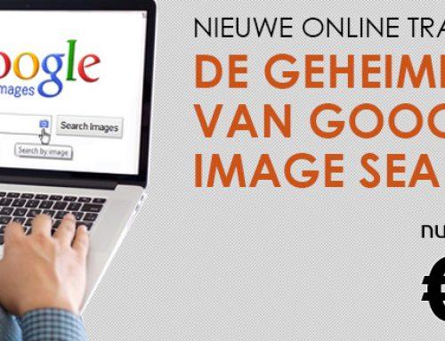 """Nieuwe cursus """"De Geheimen van Google Image Search"""". Nu 9 euro"""
