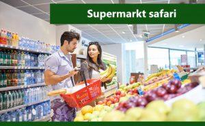 Supermarkt safari - Hoe kan gezond boodschappen doen?