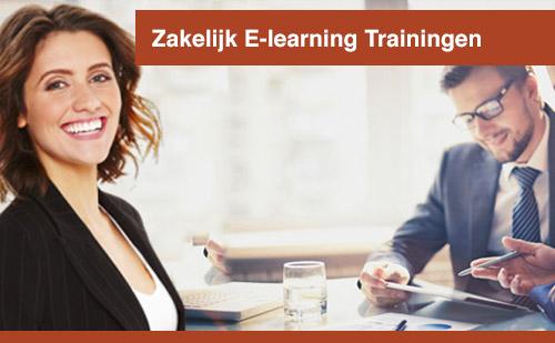 Zakelijk E-learning trainingen