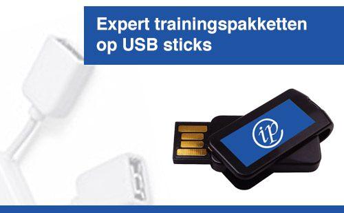 Expert trainingspakketten op USB sticks