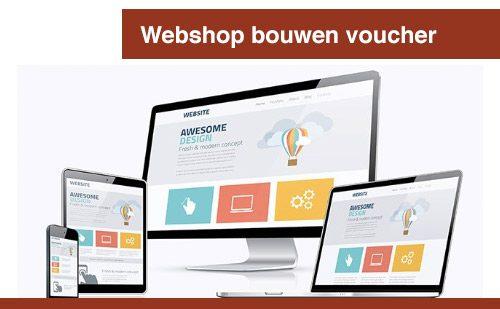 Webshop bouwen voucher