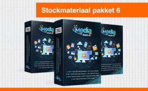 "Stockmateriaal pakket 6 ""Media Assets Kit"""