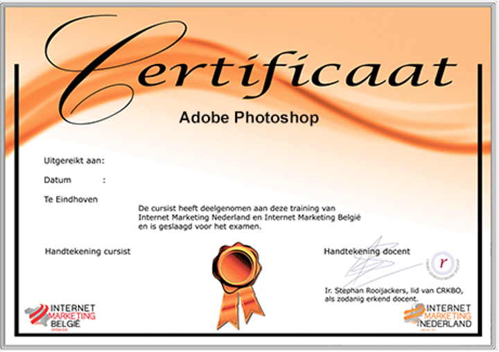 imnl-adobe-photoshop-certificaat