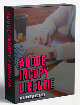 Adobe InCopy 2021 v16.0.0.77 licentie (NL,Multilingual) met online trainingen